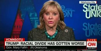 Gov. Mary Fallin: Trump 'Trying To Campaign As A Racial Healer'