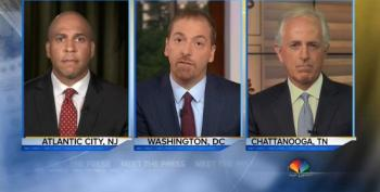 Chuck Todd Pretends We're Hearing Equally Divisive Rhetoric From 'Both Sides' On The Campaign Trail