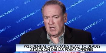 Mike Huckabee's Solution To Police Violence: Join The Police Academy