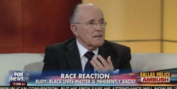 Rudy Giuliani Tells Fox News He's 'Black Jesus'