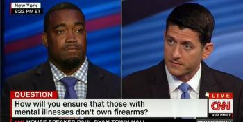 Paul Ryan Blames The VA When Asked How To Keep Guns Out Of The Hands Of The Mentally Ill