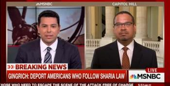 Rep. Keith Ellison Smacks Gingrich Comments As 'Calculating Pandering'