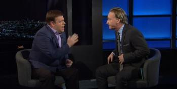 Bill Maher And Frank Luntz Exchange Barbs Over The Politics Of Division