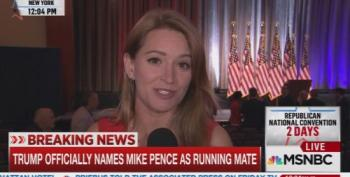 Katy Tur: NYC Tourists 'Gobsmacked' To Walk Into Mike Pence VP Introduction