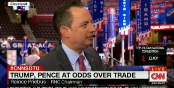 Reince Priebus Downplays Pence-Trump Policy Differences