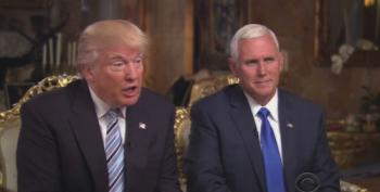 Mike Pence's Comical Attempt To Turn Trump's Flailings Into Great 'Leadership'