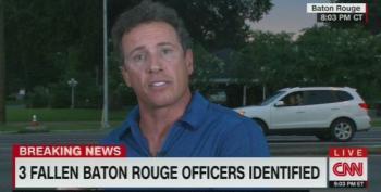 Off Air Heckler Calls CNN 'The Devil'