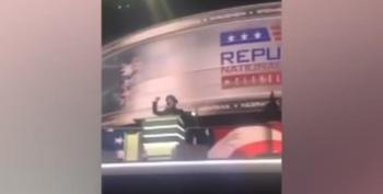 Stephen Colbert Hijacks The Mic At RNC