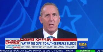 Trump Ghostwriter Regrets His Decision Now
