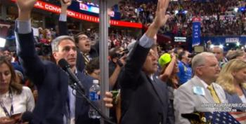 Chaos Erupts On GOP Convention Floor After Voice Votes Shuts Down Stop-Trump