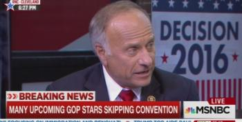 Rep. Steve King Blows Up Chris Hayes Panel With White Nationalist History Claims