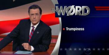 Stephen Colbert Revives His 'The Word' Segment With 'Trumpiness'