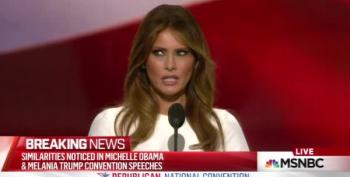 Part Of Melania Trump's Speech Came Straight From Michelle Obama's 2008 Speech