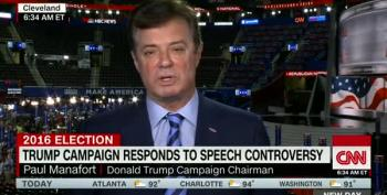 Manafort Blames Hillary For Melania Trump Plagiarism Controversy
