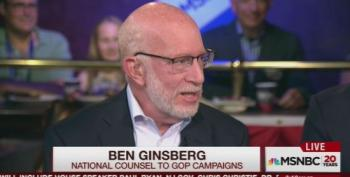 Ben Ginsberg: Plagiarized Melania Speech Is  'Sucker Punch' To The Campaign