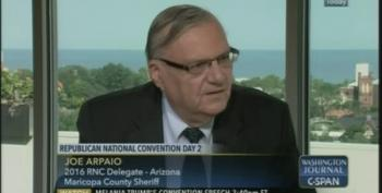 Sheriff Joe Arpaio: 'I'm Still Investigating President Obama's Birth Certificate'