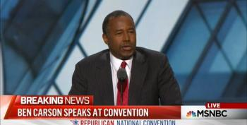 Ben Carson Accuses Clinton Of Having A 'Role Model' That 'Acknowledges Lucifer'