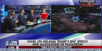 Even The Fox News Panel Thinks Melania's Speech Is A Problem