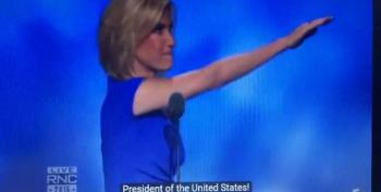 Laura Ingraham Gives Nazi Salute At RNC