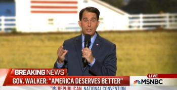 Scott Walkers Brags About How He's Governed Wisconsin At The RNC