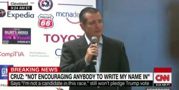 Ted Cruz: I Am Not In The Habit Of Supporting People Who Attack My Wife And Father