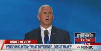 Gov. Mike Pence Lies About Hillary Clinton's Statement On Benghazi In RNC Speech