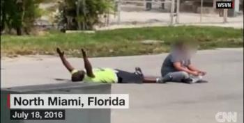 Miami Therapist Shot By Cop While Lying Hands Up