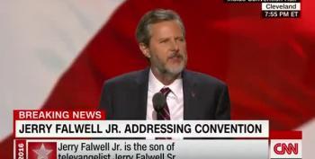 Falwell: My Father Dreamed America's 3 Greatest Threats Were 'Osama, Obama, And Yo Mama'