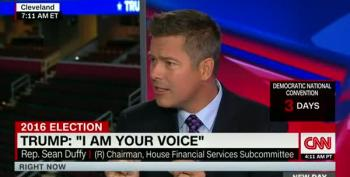 Sean Duffy: Donald Trump Speaks For White Men