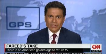 Fareed Zakaria: There Is No American Golden Age To Return To