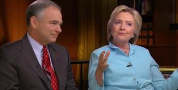 60 Minutes:  The Clinton-Kaine Interview