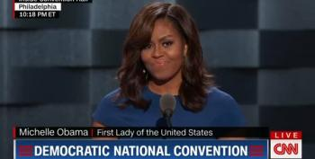 The Conclusion To Michelle Obama's Amazing Speech