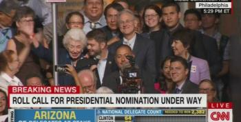 102 Year Old Delegate Casts Her Arizona Votes For Hillary Rodham Clinton