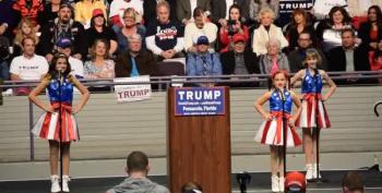 USA Freedom Kids Sing At Trump Rally