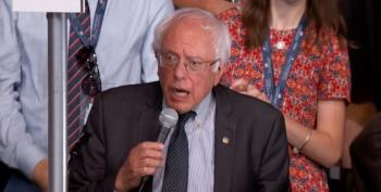Bernie Calls For Vote By Acclamation; Clinton Is Official Democratic Nominee