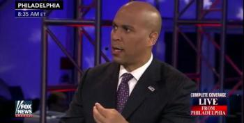 Cory Booker Smacks Down Fox & Friends Trump Cheerleading And Minimum Wage Propaganda