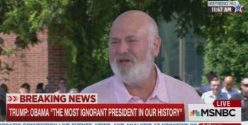 Rob Reiner On Donald Trump: 'Off The Charts Insane!'