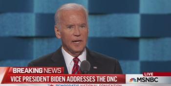 VP Joe Biden Eviscerates Donald Trump At Day Three DNC Convention