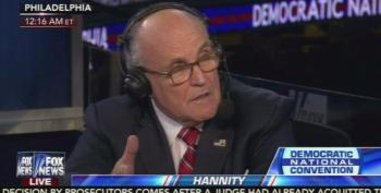 Rudy Giuliani Wants Benghazi Widow To Blame Hillary Clinton