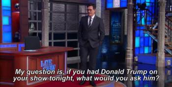 Colbert Would Ask Trump: 'What Does Putin's D*** Taste Like?'