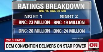 Ha! DNC Ratings So Good, Donald Begs You Not To Watch.