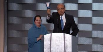 Khizr Khan Offers Donald Trump His Copy Of The Constitution