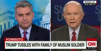 Sen. Jeff Sessions 'Rejects' Khizr Khan's Criticism Of Trump
