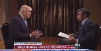 Trump Confirms That His Tax Returns Would Hurt His Election Chances