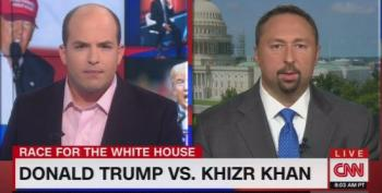 CNN's Brian Stelter Blasts Trump's Spokesman For Spinning His Disgraceful Khan Comments