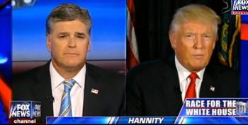 Trump Tells Hannity The November Election's 'Going To Be Rigged'