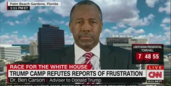 Ben Carson Tells CNN Khan Family Should Apologize To Trump
