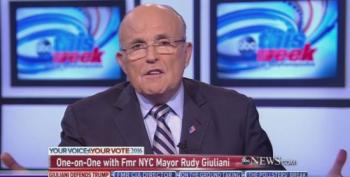 Rudy Giuliani Repeats Discredited Claim That Hillary Clinton Wants To Raise Taxes On Middle Class