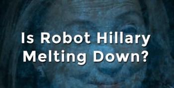 Trump Campaign's Weird 'Robot Hillary' Political Ad