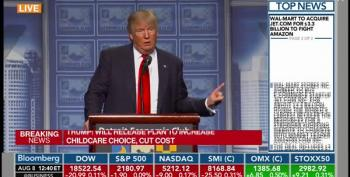 Donald Trump Short Circuits:  Says 'Titties' Not 'Cities'